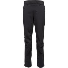 Black Diamond Stormline Stretch Pantalones de lluvia Hombre, negro
